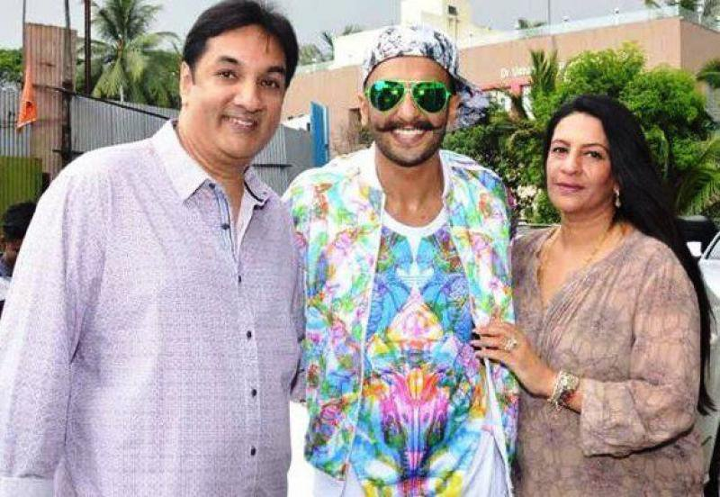 Ritika Bhavnani's parents and brother Ranveer Singh