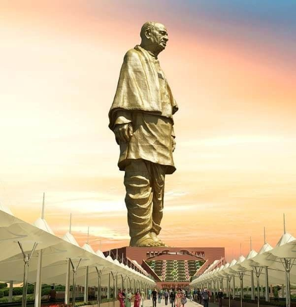 Statue of Unity was designed by Ram V Sutar