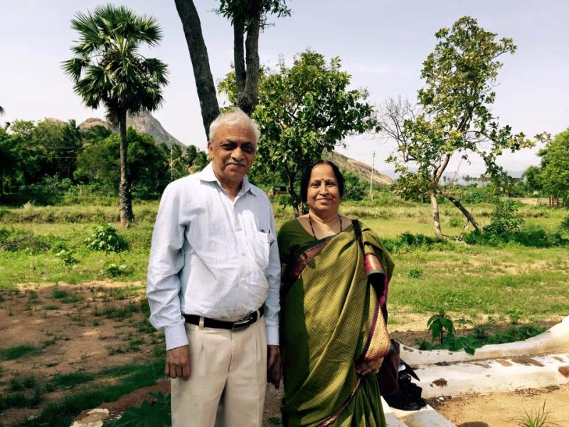 Anusha Mani's parents