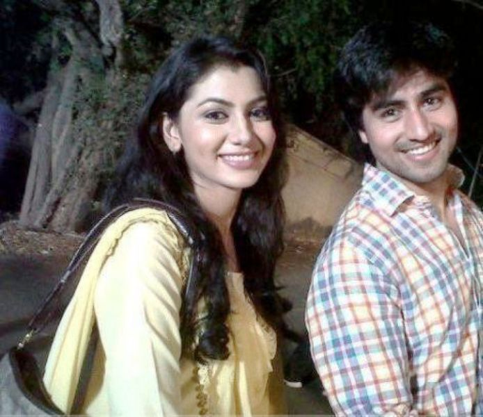 Harshad Chopda with his ex-girlfriend, Sriti Jha