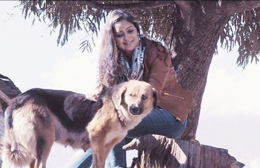 Harshdeep Kaur, an animal lover