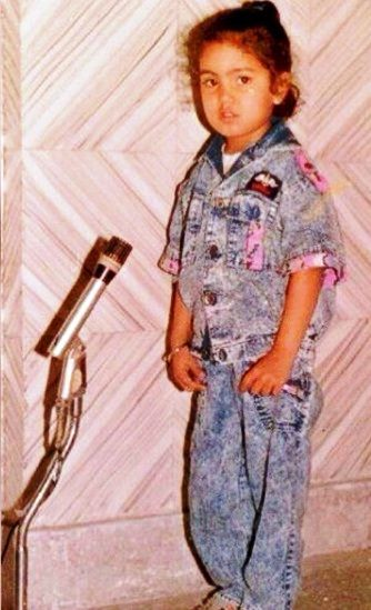 Harshdeep Kaur's childhood photo