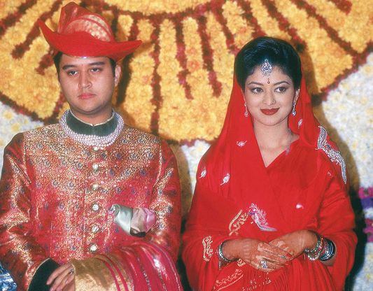 Jyotiraditya Scindia marriage photo