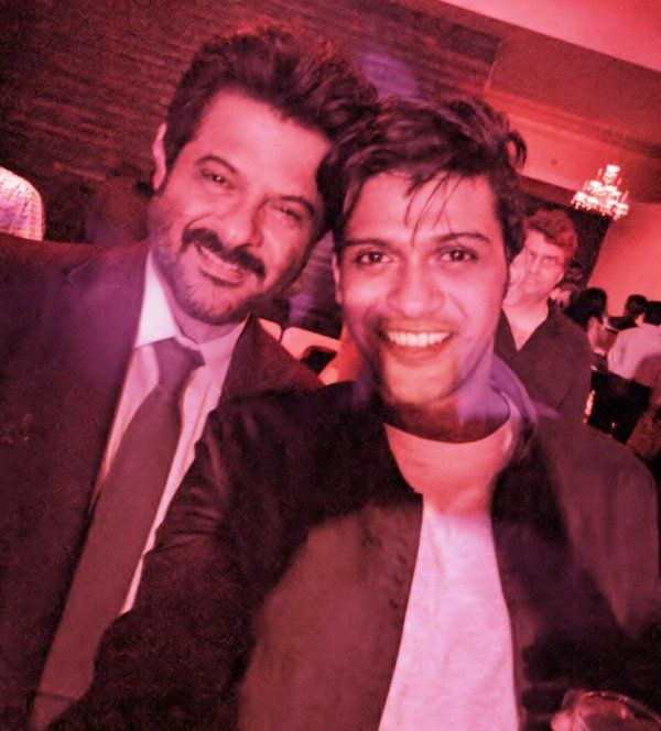 Naveen Polishetty With Anil Kapoor