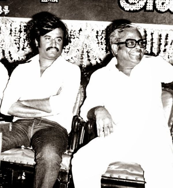 Rajinikanth with K Balachander