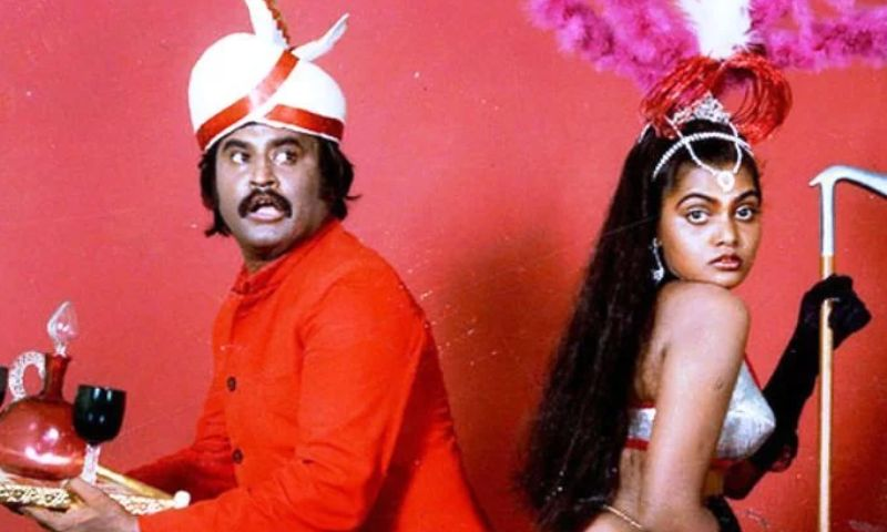 Rajinikanth with Silk Smitha