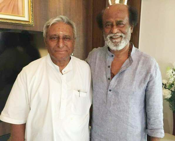 Rajinikanth with his brother, Satyanarayana Rao
