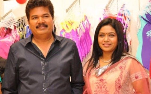 S. Shankar with his wife