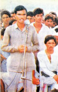 Shivraj Singh Chouhan in his young age