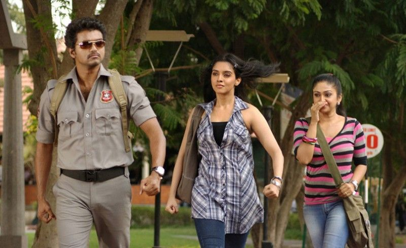 Vijay in his film, Kaavalan