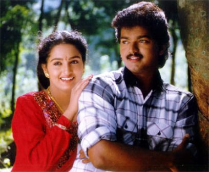 Vijay in his film, Poove Unakkaga