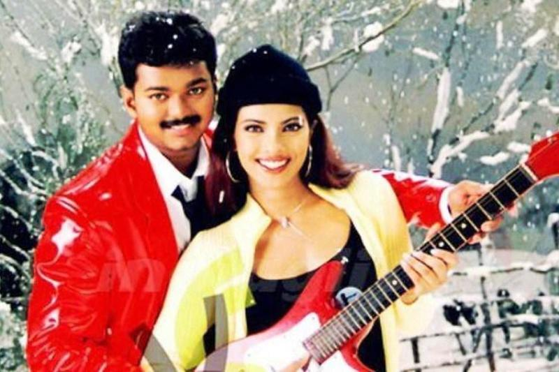 Vijay with Priyanka Chopra