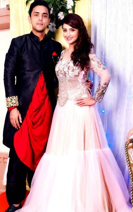 Adaa Khan with her brother Imran Khan