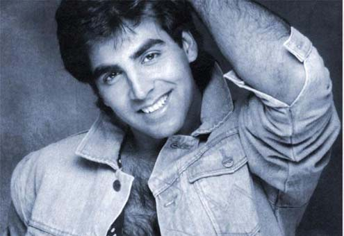 Akshay Kumar in his modeling days