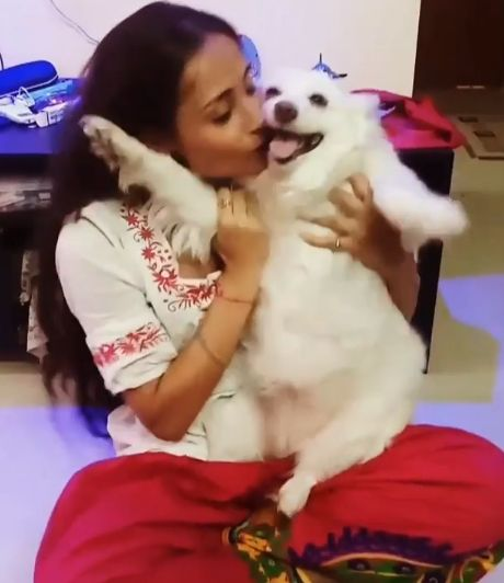 Anupriya Kapoor- Dog Lover