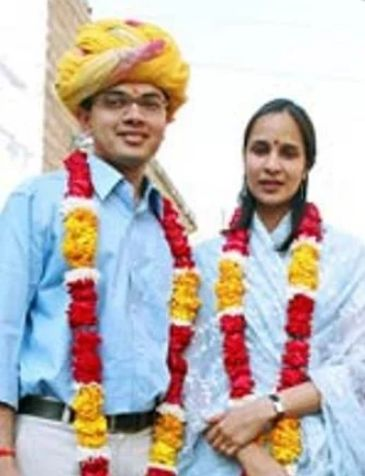 Ashok Gehlot's daughter and her husband
