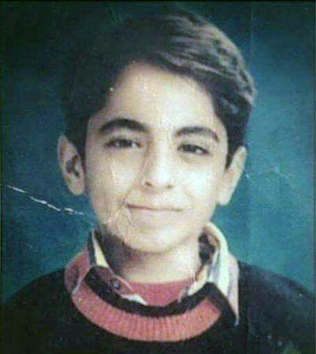 Ayushmann Khurrana in his Childhood