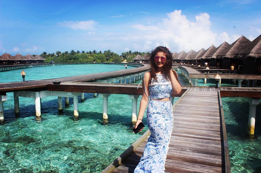 Dhvani Bhanushali On A Trip To Bali