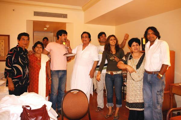 Kader Khan family