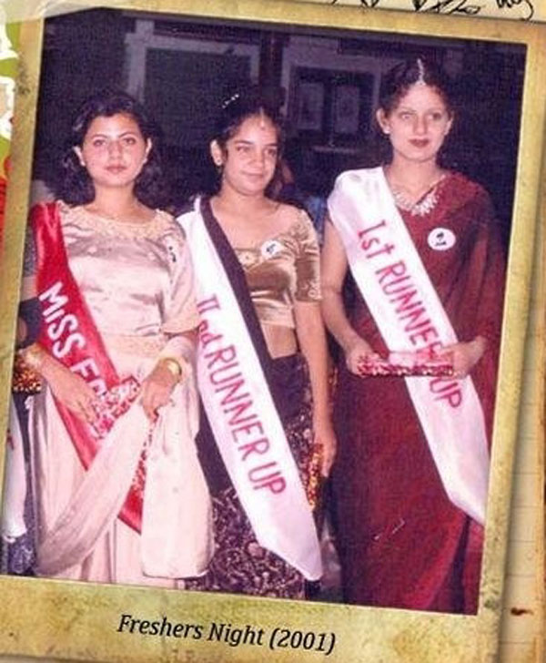Kangana Ranaut in school days
