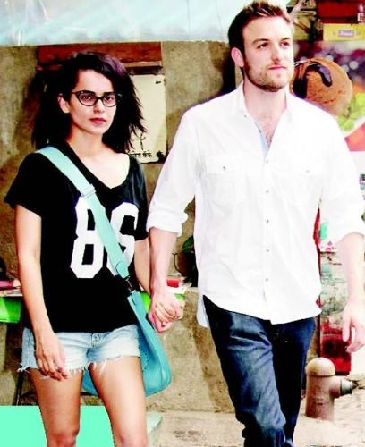 Kangana Ranaut with Nicholas Lafferty