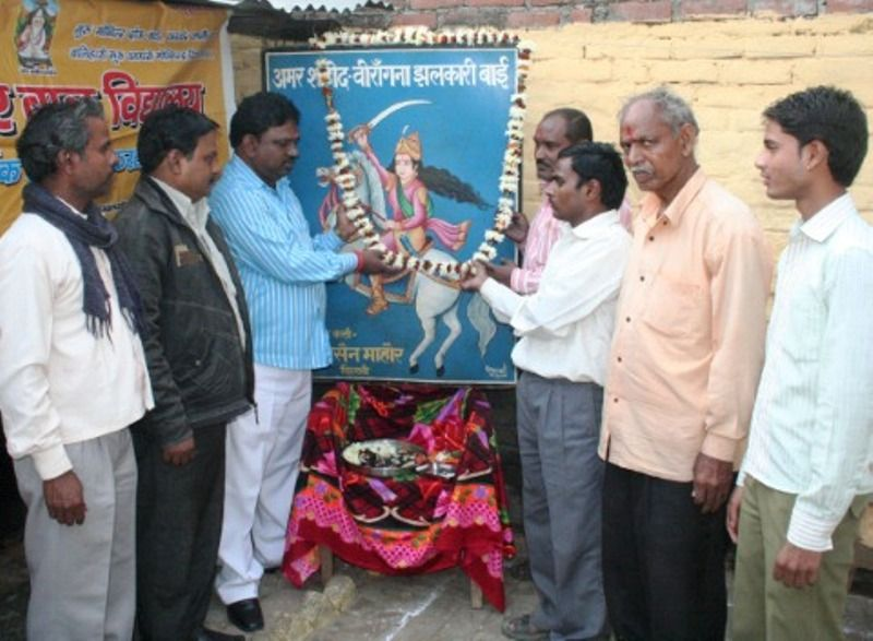 Koli community celebrating the Martyrdom of Jhalkaribai