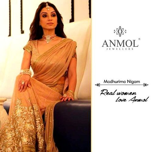 Madhurima Nigam print shoot for Anmol Jewellers
