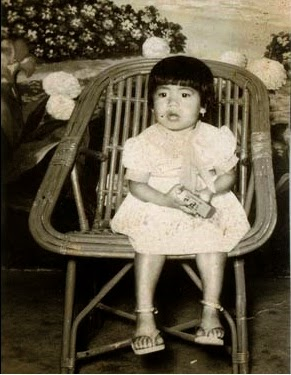 Mary Kom in her childhood
