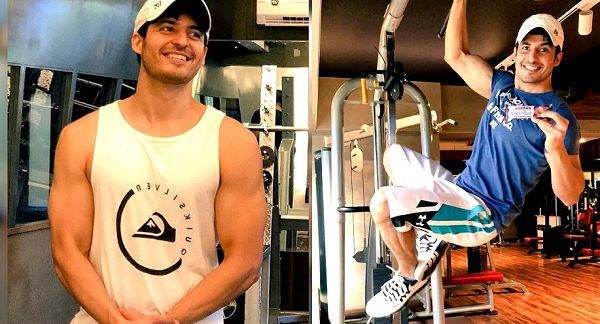 Mohit Malhotra at Gym