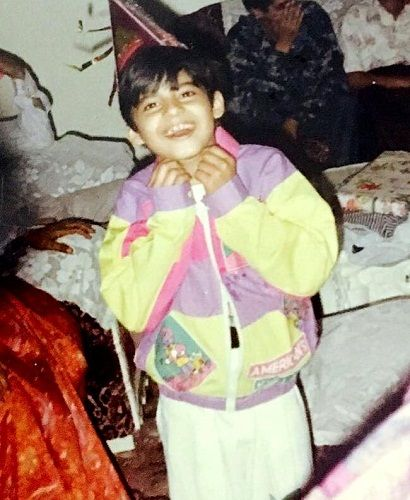 Mohit Malhotra childhood picture
