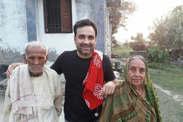 Pankaj Tripathi Parents