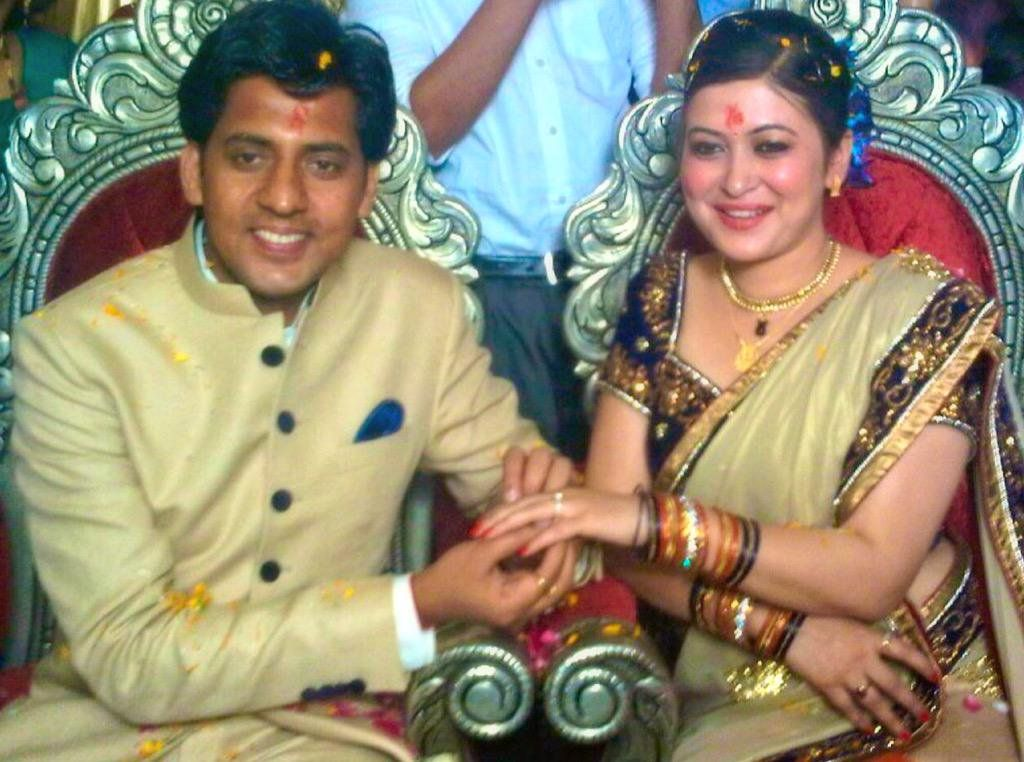Ragini Nayak and her husband