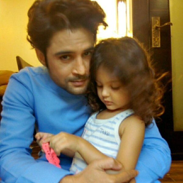 Rajeev with his daughter