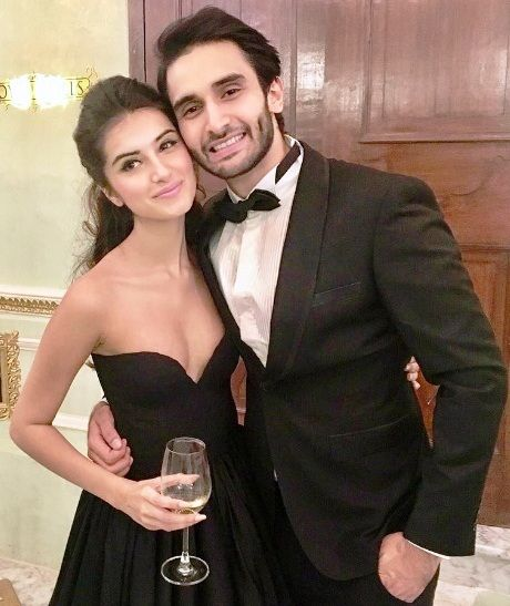 Tara Sutaria with rumoured boyfriend Rohan Mehra