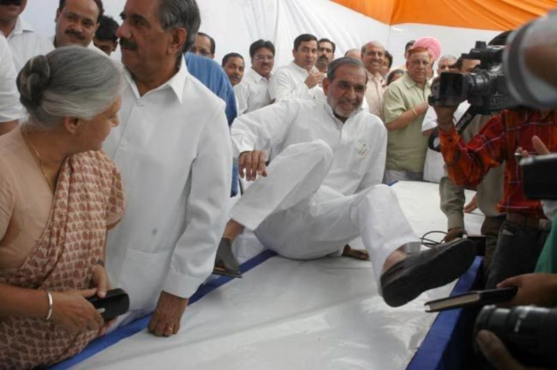 Sajjan Kumar In A Rally