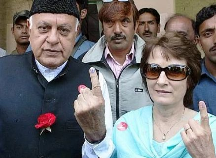 Sarah Pilot's parents - Farooq Abdullah and Mollie Abdullah