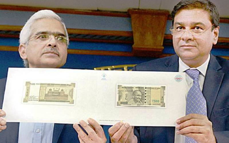 Shaktikanta Das Launching New Currency Notes