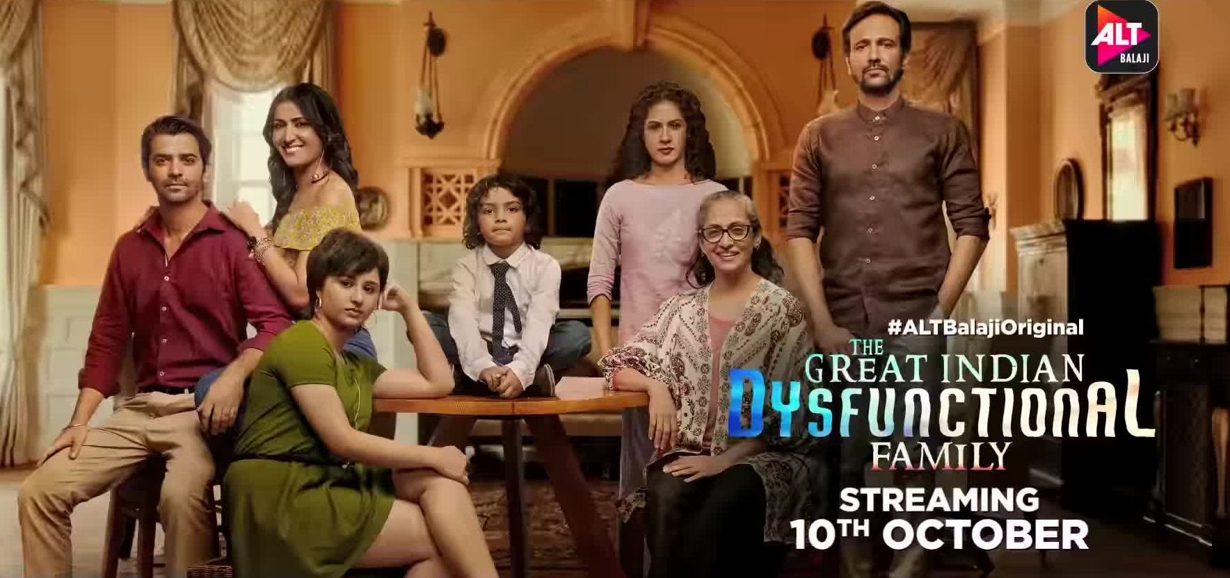 Swaroop Sampat in The Great Indian Dysfunctional Family