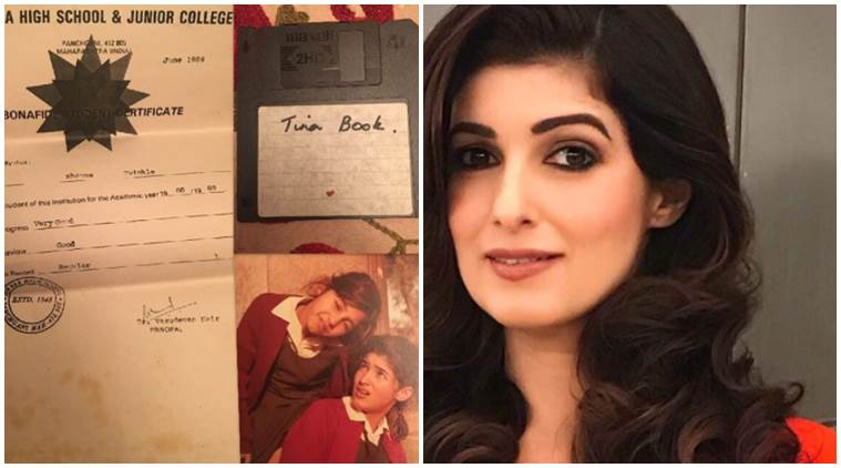 Twinkle Khanna's childhood treasures
