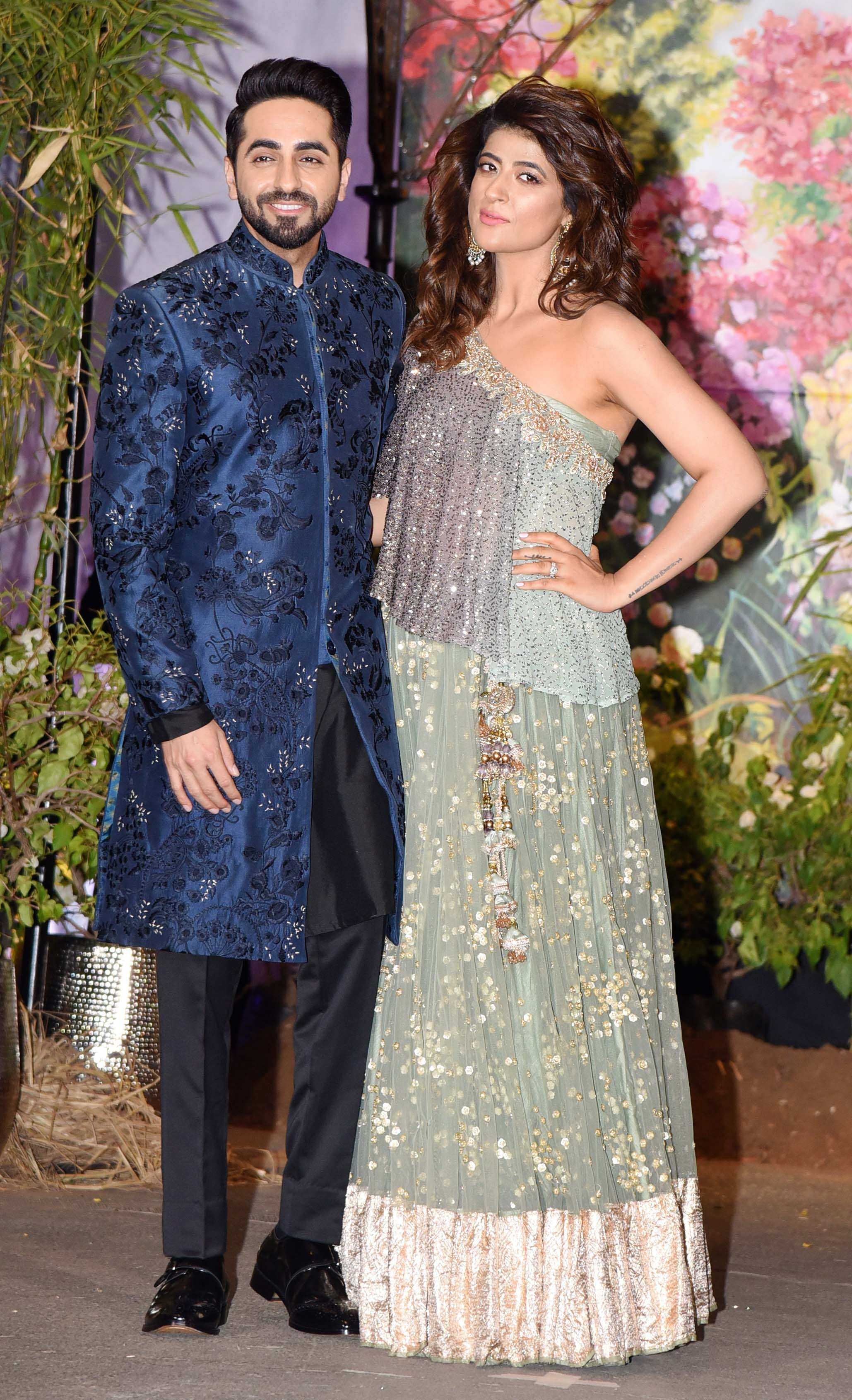 Tahira with husband, Ayushmann Khurrana.