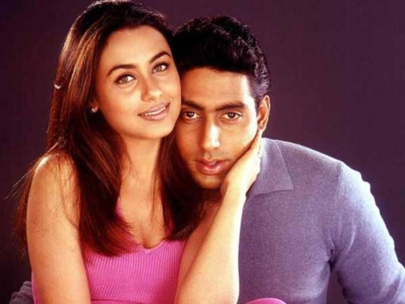 Abhishek Bachchan and Rani Mukherjee