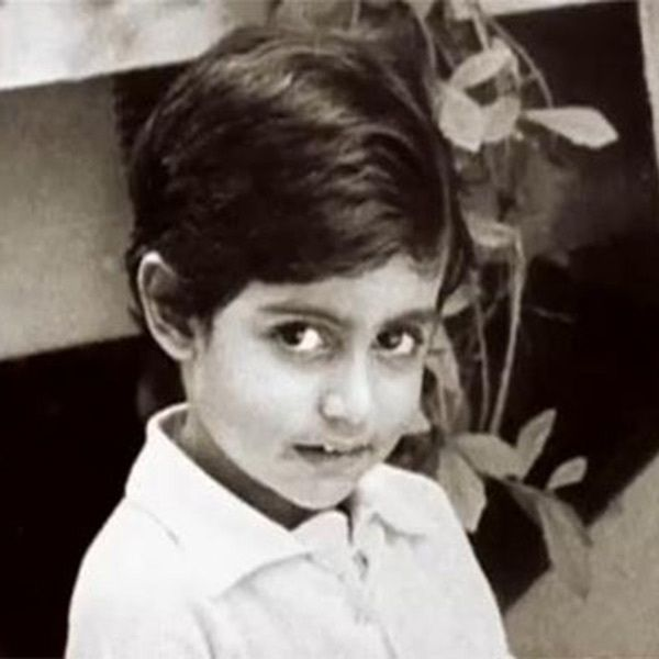 Abhishek Bachchan in his childhood