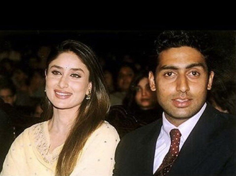 Abhishek Bachchan with Kareena Kapoor