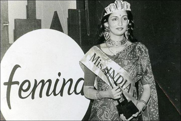 Aditya Rawal's Mother As Miss India