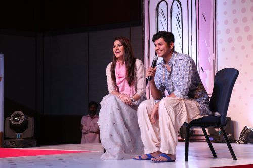Akbar And Anam At The Third Season Of The Label Bazaar Fashion Exhibition