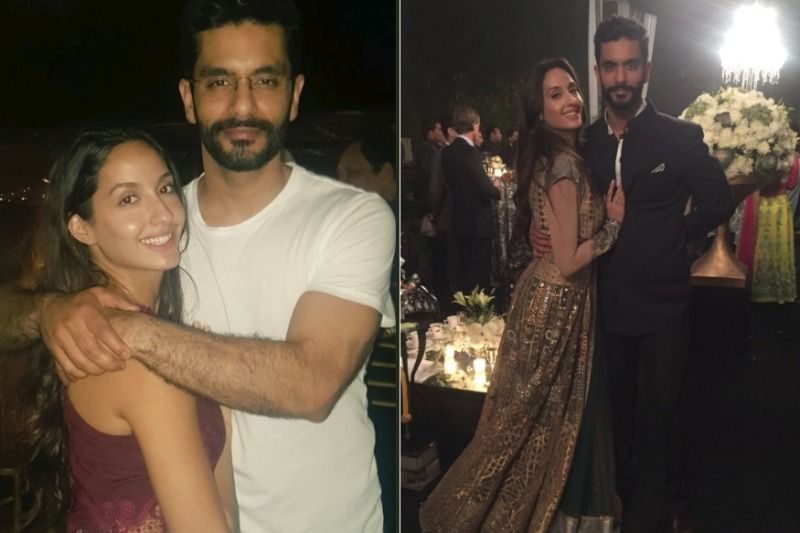 Anged Bedi and Nora Fatehi