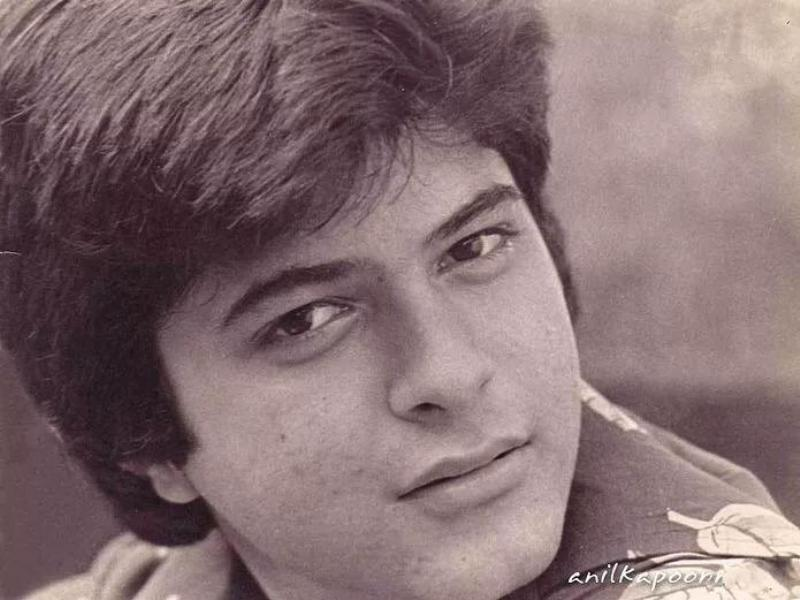 Anil Kapoor in his teenage