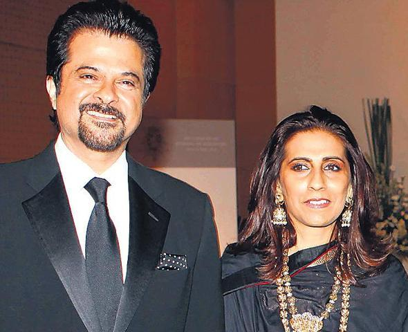 Anil Kapoor with his wife, Sunita Kapoor
