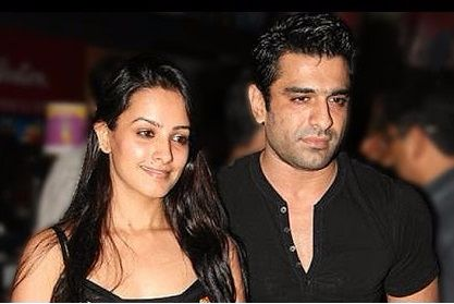 Anita Hassanandani with Eijaz Khan