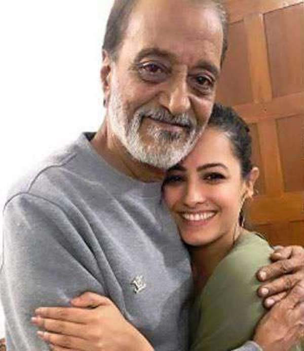 Anita Hassanandani with her father in law